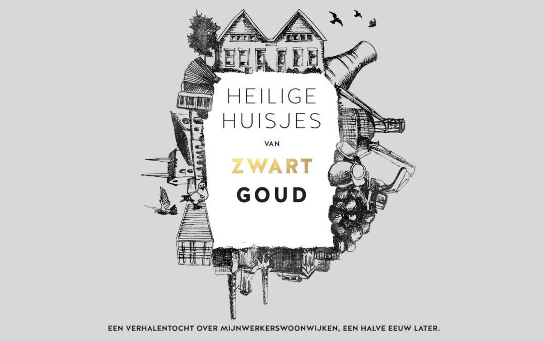 Heilige huisjes van zwart goud